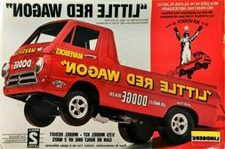 Little Red Wagon Dodge Drag Race Lindberg Model #72158 1:25