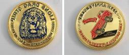 Little Red Wagon Wheelstander 50th Anniv Coin Lions Drag Str