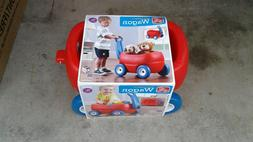 LITTLE TYKES STEP 2 LIL WAGON RED