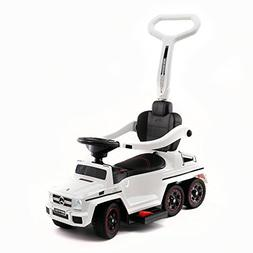 Moderno Kids Mercedes G63 AMG 6X6 Toddler Push Car Stroller