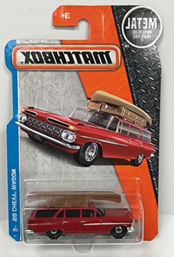 Matchbox 59 Chevy Wagon Metal Collectible Car 1/25