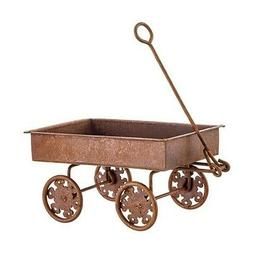 MINI RUSTIC METAL GARDEN / HAY WAGON for Byers Choice Harves