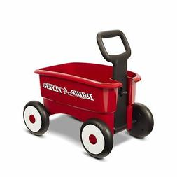 Radio Flyer My 1st 2-in-1 Wagon Kids Toddler Toy, Red