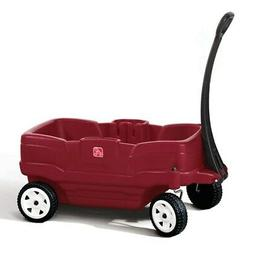 neighborhood wagon kids red wagon brand new