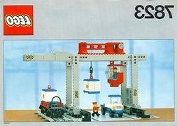 NEW Lego 12V Train 7823 Container Crane Depot - SEALED Freig