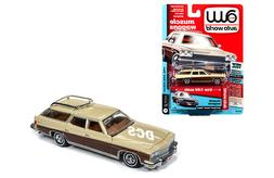 NEW AUTO WORLD 1:64 1975 BUICK ESTATE STATION WAGON SAND BEI