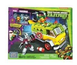 New Teenage Mutant Ninja Turtles Mega Bloks TMNT PARTY WAGON