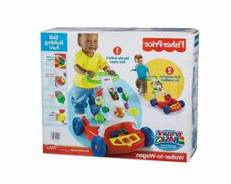 NEW Fisher Price WALKER TO WAGON Brilliant Basics BABY & TOD