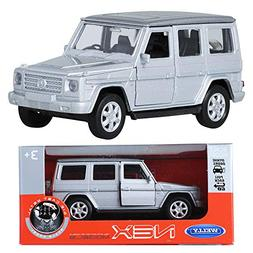 WELLY NEX MODELS 1:34 Mercedes-Benz G-class Silver Die-cast