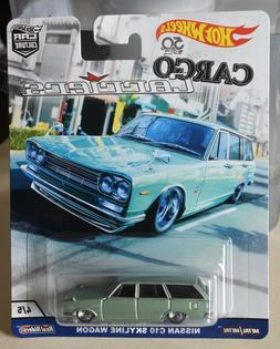 Hot Wheels Nissan C10 Skyline Wagon Vehicle