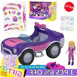 Original Polly Pocket Princess Girl Doll Car Toy <font><b>Mi