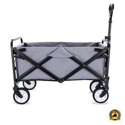 Outdoor Utility Cart Garden Wagon Foldable Folding Camping C