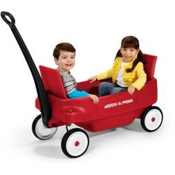 Radio Flyer, Pathfinder 2-in-1 Wagon, Folding Seats, Red