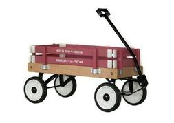 BERLIN FLYER PEE-WEE WOODEN GIRLS WAGON MADE IN THE USA AMIS