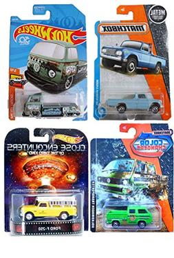 Pickup Selection from Matchbox and Hot Wheels - Close Encoun
