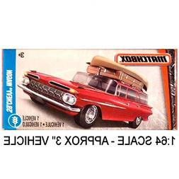 Matchbox Power Grabs 1:64 Scale  1959 Chevrolet Chevy Wagon