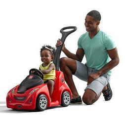 Step2 Push-Around Kids Plastic Parent Push Power Car Ride On