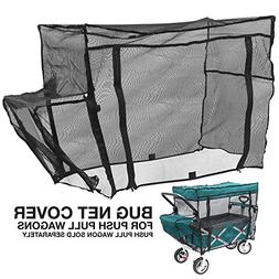 Creative Outdoor Push Pull Folding Wagon Bug NET