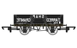 Hornby R6750 5 Plank Wagon 'Shap Tarred Granite'