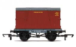 Hornby R6776 Conflat and Container Wagon