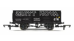 Hornby R6819 21t Mineral LWB Freight Wagon 'Avon Tyres' Blac