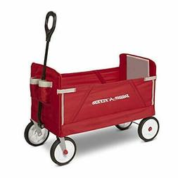 *Radio Flyer 3-in-1 EZ Fold Wagon Ride On, Red by Radio Flye