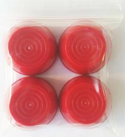 Radio Flyer Plastic & Folding Wagon Wheel Red Hub Caps for 7