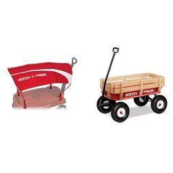 Radio Flyer Full Size All-Terrain Steel and Wood Wagon with