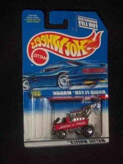 #827 Radio Flyer Wagon Red Blue Card Malaysia Collectible Co
