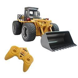 Fistone RC Truck Alloy Shovel Loader Tractor 2.4G Radio Cont