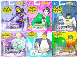 Hot Wheels Real Riders - Batman Classic TV Series - Complete