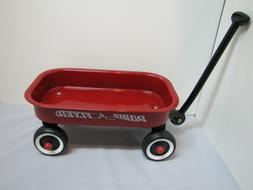 """Radio Flyer Red Child Mini Pull-Along 12"""" Wagon with pull"""