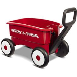 Radio Flyer Red Wagon, My 1st 2-in-1 Toddeler Walking Aid Ki
