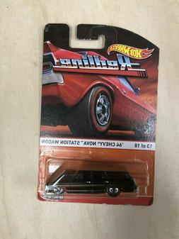 Hot Wheels Redline '64 Chevy Nova Station Wagon 13 Of 18 201