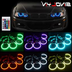 rgb led light angel eyes drl halos