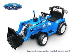 Beyond Infinity 12V Ride On Ford Tractor with Loader in Batt