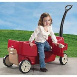 Ride On Wagon Car Kid Toddler Infant Stroller Pushing Push C
