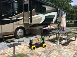 RV Carts and Wagons Motor Home Toy Hauler Accessories Travel