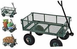 Lee CW3418 Muscle Carts Steel Utility Garden Wagon, 400 lb.