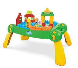 Mega Bloks Sesame Street Sesame Table Building Set