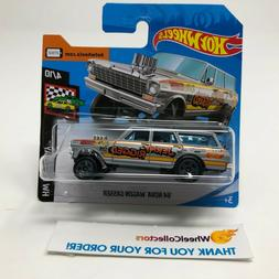 SHORT CARD * '64 Nova Wagon Gasser * Grey * 2019 Hot Wheels