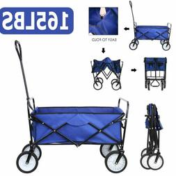 Sports Collapsible Folding Wagon Shopping Cart Utility Garde