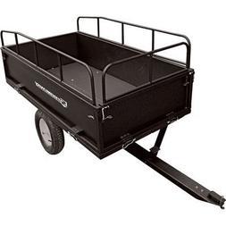 Strongway Steel Dump Cart - 1,200-Lb. Capacity, 17 Cu. Ft.