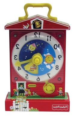 NEW Children's Teaching Clock Fisher Price Classic Toy Retro