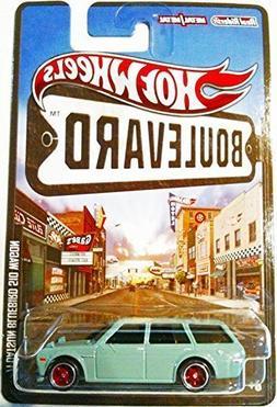 Teal DATSUN BLUEBIRD 510 WAGON Hot Wheels Boulevard Series 1