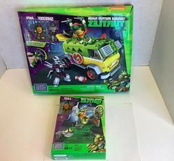 Mega Bloks Teenage Mutant Ninja Turtles TMNT Party Wagon & L
