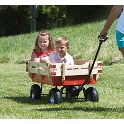 All-Terrain Red Wagon, 330-Lb. Capacity