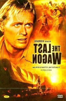 The Last Wagon  New Sealed DVD Richard Widmark