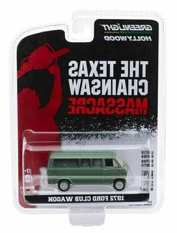 "Greenlight ""The Texas Chainsaw Massacre"" 1972 Ford Club Wago"