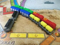 Ticket To Ride Board Game 10th Anniversary Inspired 3D Print